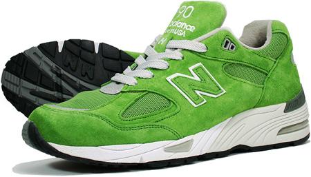lime green new balance