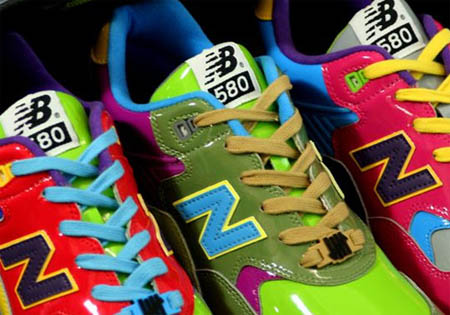Stussy x Hectic x UNDFTD x New Balance Triple Threat MT580 Synthetic Pack