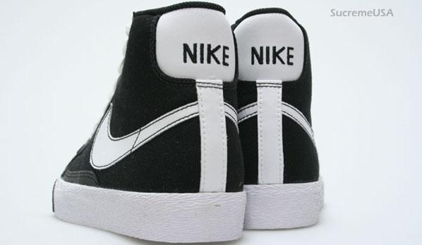 Nike Blazer Mid Denim Black / White