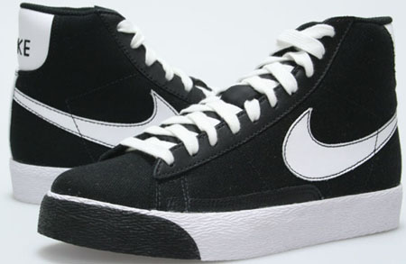 big sale 5cc90 16636 Nike Blazer Mid Denim Black   White