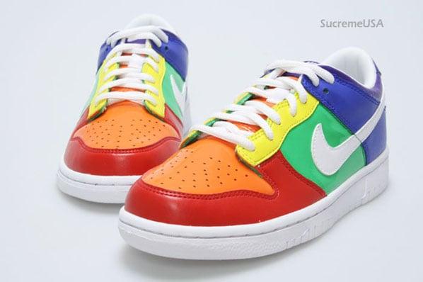 Nike Dunk Low GS Rainbow | SneakerFiles