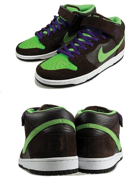 Nike Dunk SB Mid Donatello TMNT Detailed Look