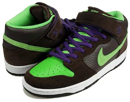 new style 0758b 42174 Nike Dunk SB Mid Donatello TMNT Detailed Look