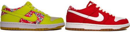 Nike Dunk Low Womens Liberty Fabric Pack