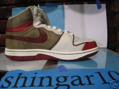 Nike Court Force High Sample - Craws