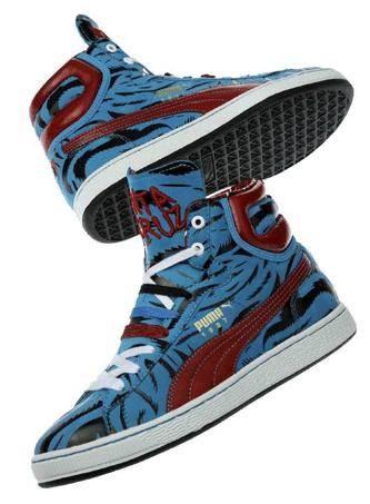 8784c94cc11 Santa Cruz x Puma First Round High | SneakerFiles
