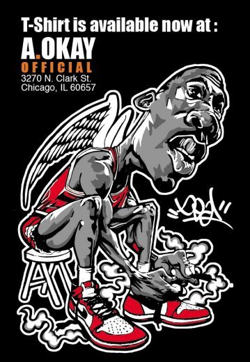 Limited Custom MJ shirt by Deal @ A.Okay Official