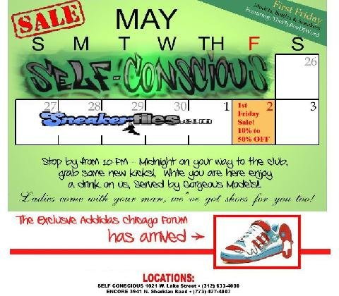 First Friday Sale Event at Self-Conscious Chicago This Friday