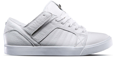 093772d796 We've already seen the hi-top version of this Supra Skytop, but now it  transitions into the low model which feature in Pure White leather.