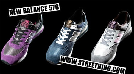 New Balance 576 - Three New Colorways