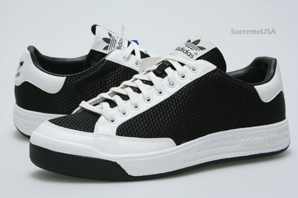 Adidas Rod Laver Low Weave Black / White