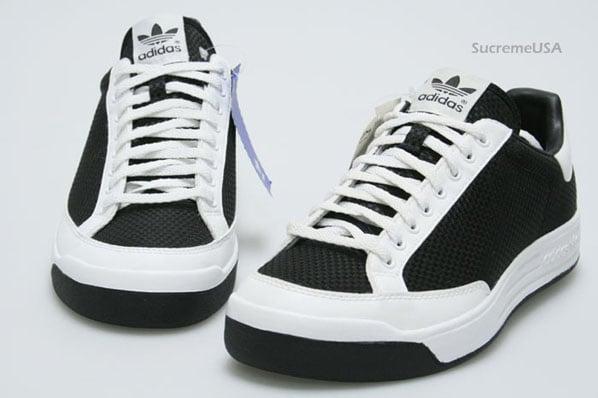 Adidas Rod Laver Low Weave Black / White