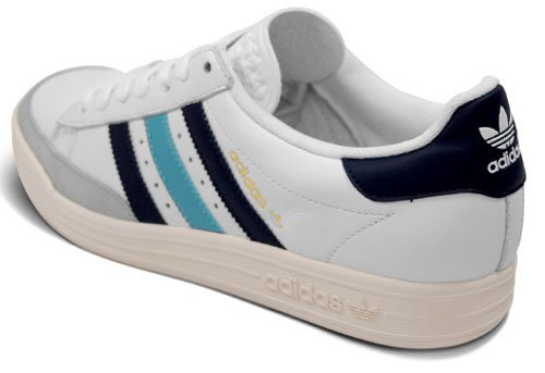 reputable site 9a842 3c587 Adidas Tennis TC - White   Black   Light Blue   Grey