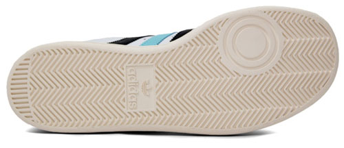 Adidas Tennis TC - White / Black / Light Blue / Grey