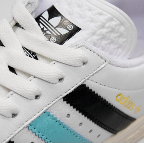 Adidas Tennis TC - White / Black / Light Blue / Grey