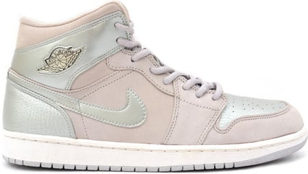 Air Jordan 1 (I) Retro Neutral Grey / Silver - White