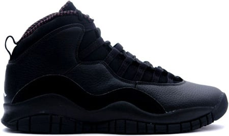 Air Jordan 10 (X) Retro Black / White