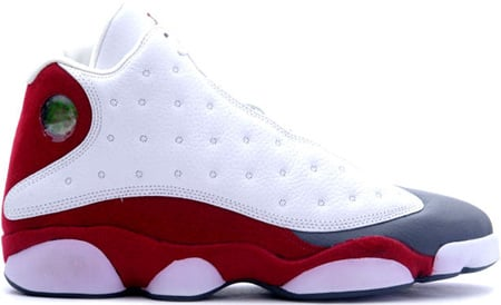 Air Jordan 13 (XIII) Retro White   Team Red - Flint Grey  091992ed0a