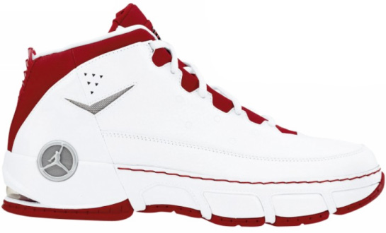 Air Jordan CP Chris Paul: Black / Red and White / Red