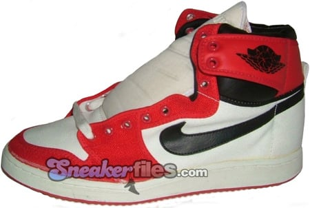 Air Jordan Original 1 (I) AJKO White / Black - Red