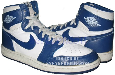 Air Jordan Original - OG 1 (I) White / Blue