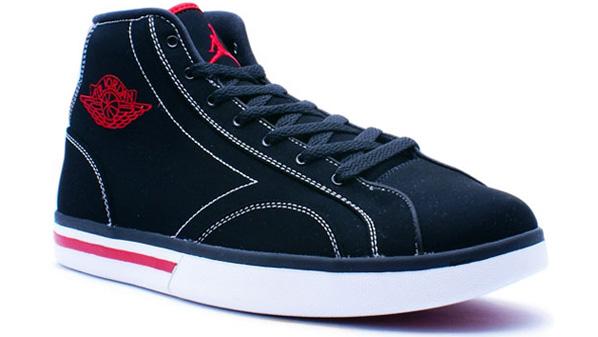 Air Jordan PHLY High Black / White - Varsity Red
