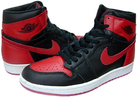 Air Jordan 1 (I) 1994 Retro Black / Red
