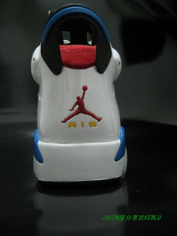 Air Jordan Retro VI (6) Olympic 2008 Second Look
