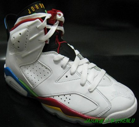 best sneakers 411ec fbe58 Air Jordan Retro VI (6) Olympic 2008 Second Look | SneakerFiles