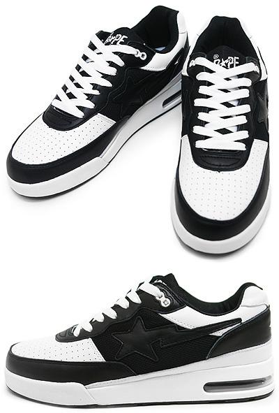 Bape Roadsta Black and White