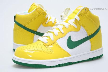 Nike Dunk High - Brazil