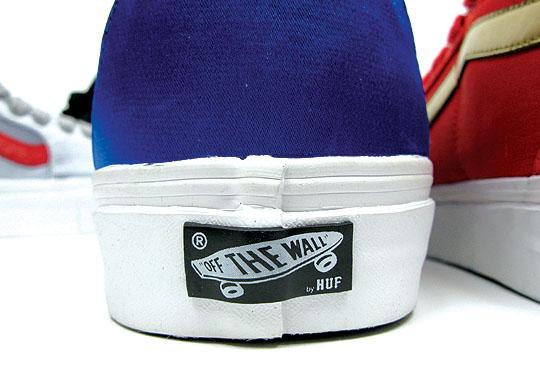 HUF x Vans Sk8-Hi Satin Pack