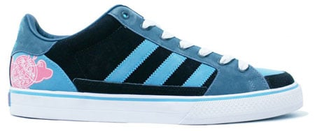 Adidas Superskate Vulcan Low  - Sax / Black / Pink