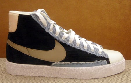 Nike Womens Blazer High - Corduroy