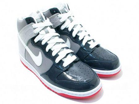 Nike Dunk High Premium - Light Graphite / Varsity Red