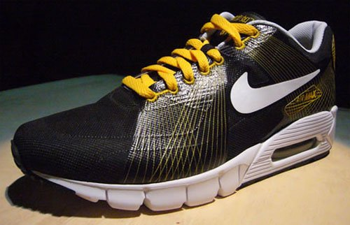 Nike Sportswear Air Max 90 Flywire - Black / Yellow and Black / Green