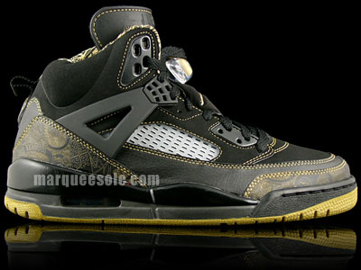 Air Jordan Spizike - Black / Gold