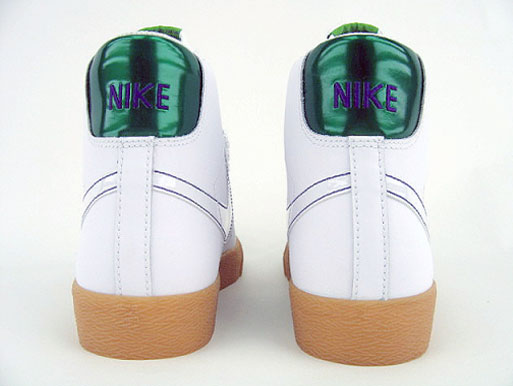 Nike Blazer High - White/ Gum Yellow / Pine Green