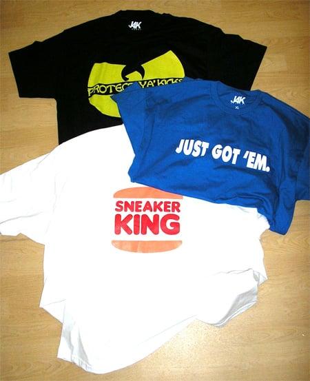 J4K Apparel Sneaker Inspired T-Shirts