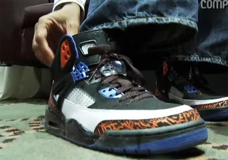 Air Jordan Spizike - Spike Lee Exclusive Knicks Color-way