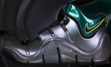 Nike Zoom Lebron IV Sample - Iridescent Green