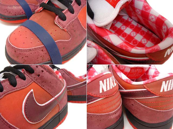 Nike SB Dunk Low - Lobster x Rob Heppler and Concepts Design