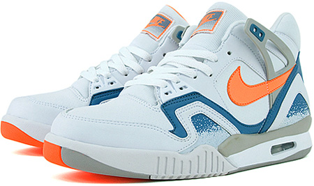 Nike Air Tech Challenge II (2) LE White / Tart - Clay Blue - Granite