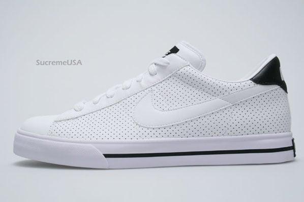 Nike Sweet Classic Perforated White - Black