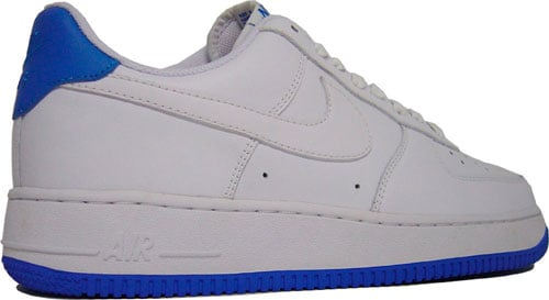 Nike Air Force 1 Low White / New Blue at Purchaze