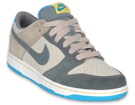 best website 902e1 34e20 Nike NYX Dunk Low - Grey   Pavement   Yellow   Vivid Blue