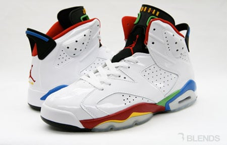 Air Jordan VI (6) - Olympic  252ef2efa