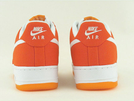 Nike Womens Air Force 1 Canvas - Orange Blaze
