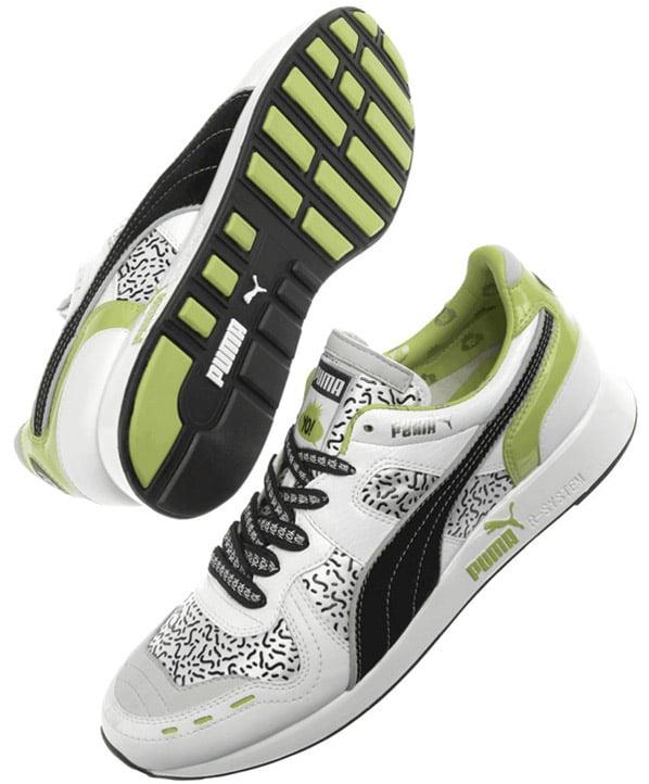 Puma YO! MTV Raps RS100 SP White - Black - Green