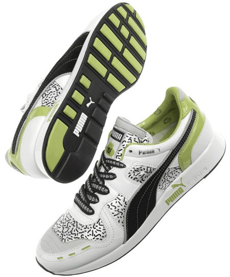 Puma YO! MTV Raps RS100 SP White - Black - Green